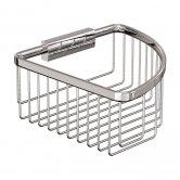 Britton Deep Corner Wire Soap Basket - Chrome