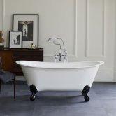 Burlington Medici Batello Grande Freestanding Bath 1690mm x 800mm - Excluding Feet