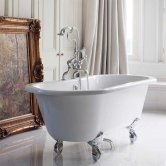 Burlington Windsor Traditional Freestanding Bath 1700mm x 750mm - Excluding Feet