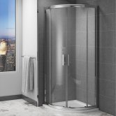 Cali Cass Six Quadrant Shower Enclosure 1000mm x 1000mm - 6mm Glass