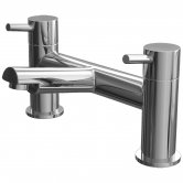 Cali Dalton Bath Filler Tap - Deck Mounted - Chrome