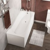 Cali Delph Rectangular Bath 1700mm x 700mm Single Ended