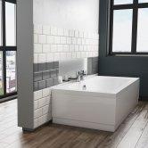 Cali Hilton Rectangular Bath 1700mm x 800mm Double Ended