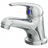 Cali Rio Mono Basin Mixer Tap Deck Mounted with Click Clack Waste - Chrome