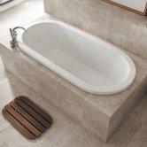 Carron Halcyon Inset 1750mm x 800mm Oval Bath - 5mm Acrylic