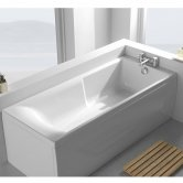 Carron Matrix Single Ended Rectangular Bath 1600mm x 700mm - Acrylic