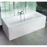 Cleargreen Enviro Rectangular Double Ended Bath 1700mm x 750mm - White
