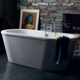 Cleargreen Nouveau Freestanding Bath 1780mm x 810mm - White