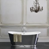 Clearwater Balthazar Freestanding Bath 1675mm x 761mm - Clear Stone