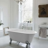 Clearwater Classico Grande Traditional Freestanding Bath 1690mm x 800mm - Clear Stone