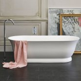 Clearwater Florenza Freestanding Bath 1828mm x 864mm - Clear Stone