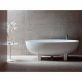 Clearwater Lacrima Freestanding Bath 1690mm x 800mm - Natural Stone