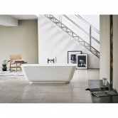 Clearwater Nuvola Freestanding Bath 1700mm x 750mm - Clear Stone
