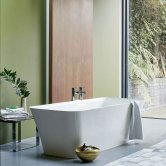 Clearwater Palermo Grande Freestanding Bath 1790mm x 750mm - Clear Stone