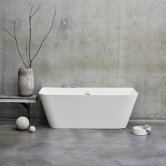 Clearwater Patinato Grande Freestanding Bath 1690mm x 800mm - Clear Stone