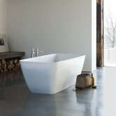 Clearwater Vinceza Grande Freestanding Bath 1800mm x 800mm - Clear Stone