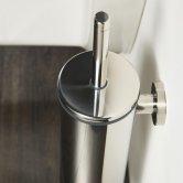 Coram Boston Toilet Brush and Holder - Chrome
