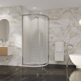 Coram Premier 8 Quadrant Shower Enclosure 800mm x 800mm - 8mm Plain Glass