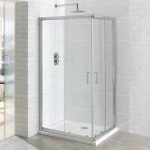 Eastbrook Vantage Corner Entry Shower Enclosure 800mm x 800mm - 6mm Glass