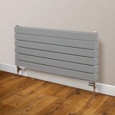 EcoRad Beaufort Single Horizontal Radiator 464mm H x 1020mm W - RAL