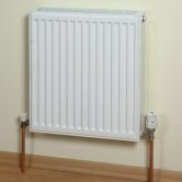 Heatline EcoRad Compact Radiator 600mm H x 1500mm W Single Convector