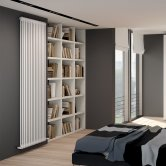 EcoRad Legacy 2 Column Radiator 1802mm High x 159mm Wide 3 Sections - White