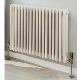 EcoRad Legacy 3 Column Radiator 302mm High x 1194 mm Wide 26 Sections - White
