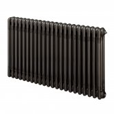 EcoRad Legacy 3 Column Radiator 602mm High x 744mm Wide 16 Sections - Lacquer