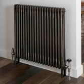 EcoRad Legacy 4 Column Radiator 502mm High x 1194mm Wide 26 Sections - Lacquer
