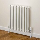 EcoRad Mode Horizontal Designer Radiator, 668mm H x 428mm W, White