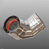 Firebird 90 Degree Flue Bend 73 (185mm diameter)