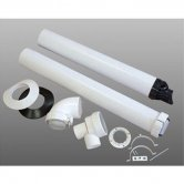 Firebird PLAS-FIT High Level Flue Kit (1.075 Metre)