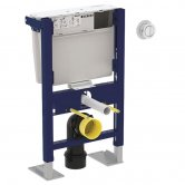 Geberit Duofix WC Toilet Frame 790mm with Low-Height Furniture Cistern - Remote Flush