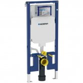 Geberit Duofix UP720 WC 1140mm Toilet Frame With 80mm Sigma Cistern - Blue