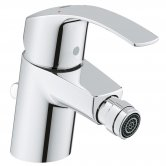 Grohe Eurosmart S-Size 1/2 inch Bidet Mixer Tap with Pop Up Waste - Chrome