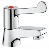 Grohe Hospita Basin Pillar Tap Deck Mounted - Chrome