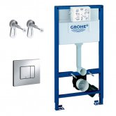 Grohe Rapid SL 3 in 1 WC Frame Set with Fixings