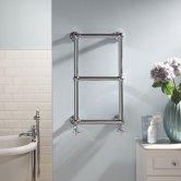 Heatwave Aldworth Traditional Towel Rail 700mm H x 500mm W - Chrome