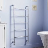 Heatwave Ballymore Designer Heated Towel Rail 900mm H x 560mm W - Chrome