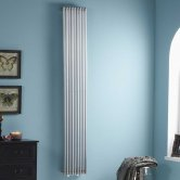 Heatwave Iridio Vertical Designer Radiator 1800mm H x 500mm W - Chrome
