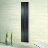 Heatwave Merlo Single Panel Vertical Radiator 1800mm H x 604mm W - Anthracite
