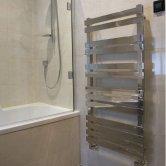 Heatwave Octagon Designer Heated Towel Rail Steel 600mm H x 400mm W - Chrome
