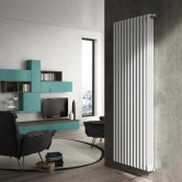 Heatwave Windsor 3 Column Vertical Radiator 1800mm H x 486mm W - 10 Section