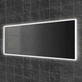 HiB Globe 140 Steam Free LED Bathroom Mirror 600mm H x 1400mm W