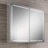 HiB Groove 80 Illuminated Bluetooth Bathroom Cabinet 700mmH X 800mm W