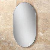 HiB Jessica Designer Bathroom Mirror 400mm H x 600mm W