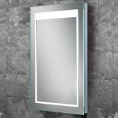 HiB Liberty LED Back-Lit Bathroom Mirror 600mm H x 400mm W