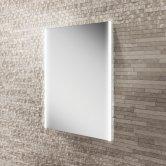 HiB Zircon 50 Demistable Bathroom Mirror 700mm H x 500mm W