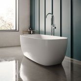 Hudson Reed Bella Freestanding Bath 1495mm x 720mm - White