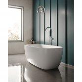 Hudson Reed Bella Freestanding Bath 1495mm x 720mm - White